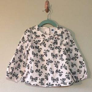 Janie and Jack 3T pink blouse